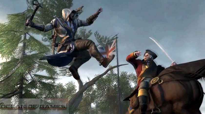 Assassins Creed III Features