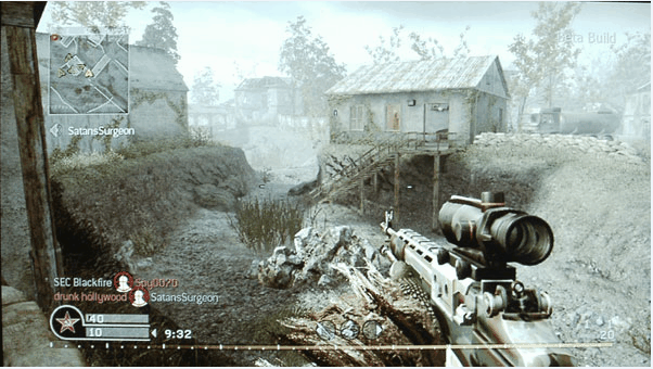 call of duty technical details