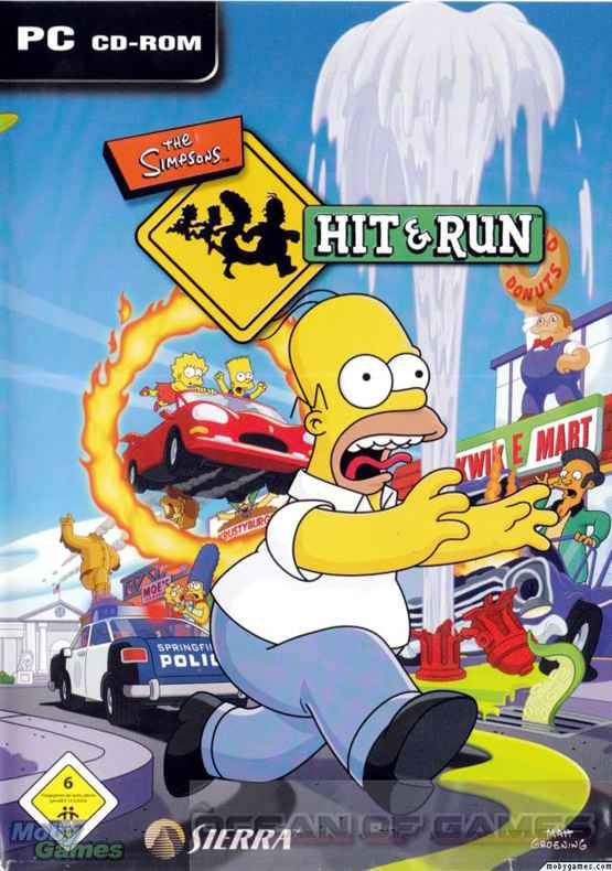 The Simpsons Hit and Run Setup Free Download