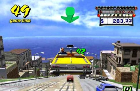 Crazy Taxi Features