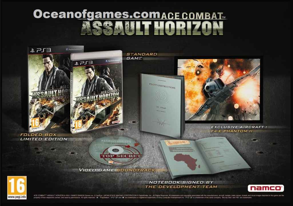 Ace Combat Assault Horizon Download